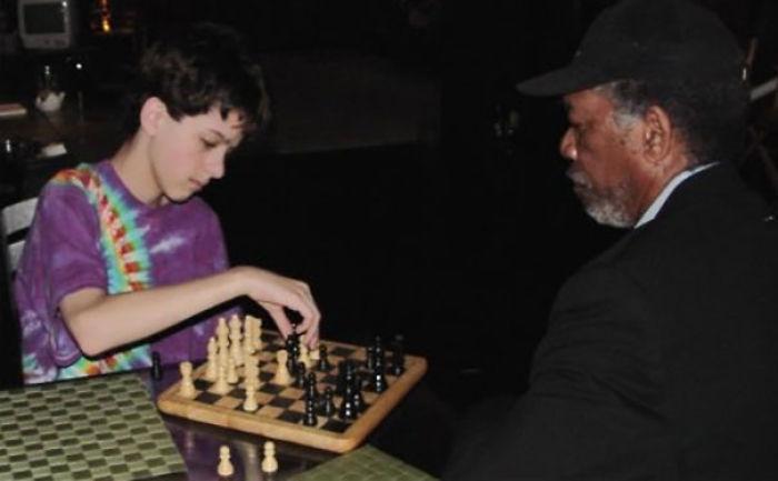 Cuando tenía 11 años jugué al ajedrez con Morgan Freeman