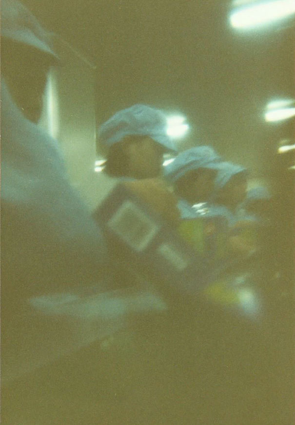 I Once Bought A Disposable Camera. There Was A Picture Taken Already