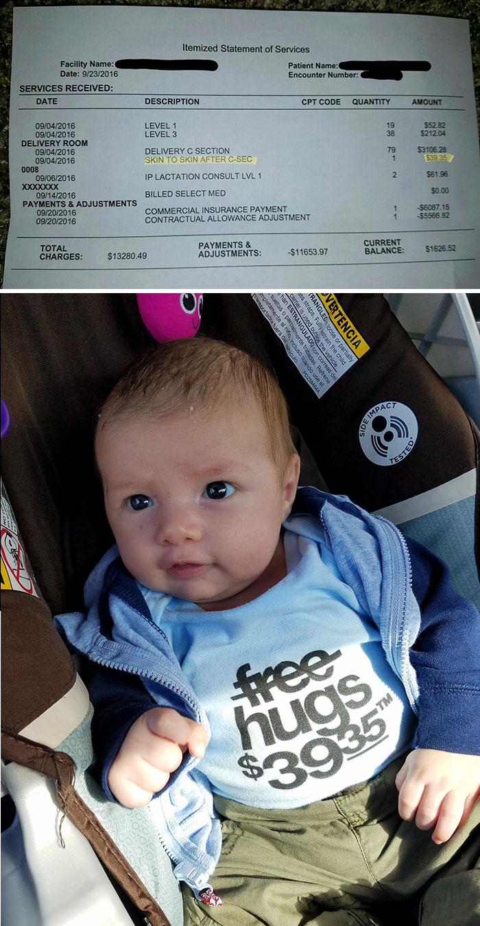 I Had To Pay $39.35 To Hold My Baby After He Was Born