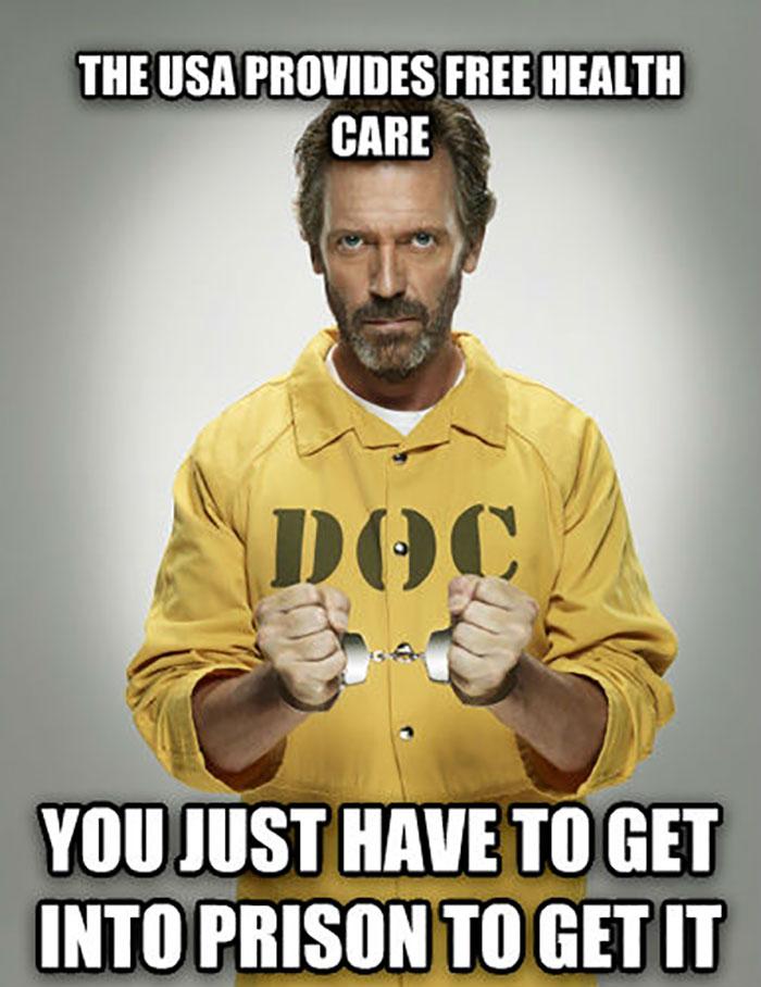 The USA Provides Free Health Care