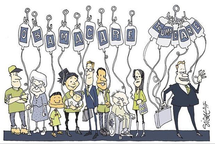 Obamacare And Trumpcare