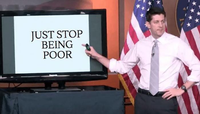 Paul Ryan Gives Presentation On Trumpcare