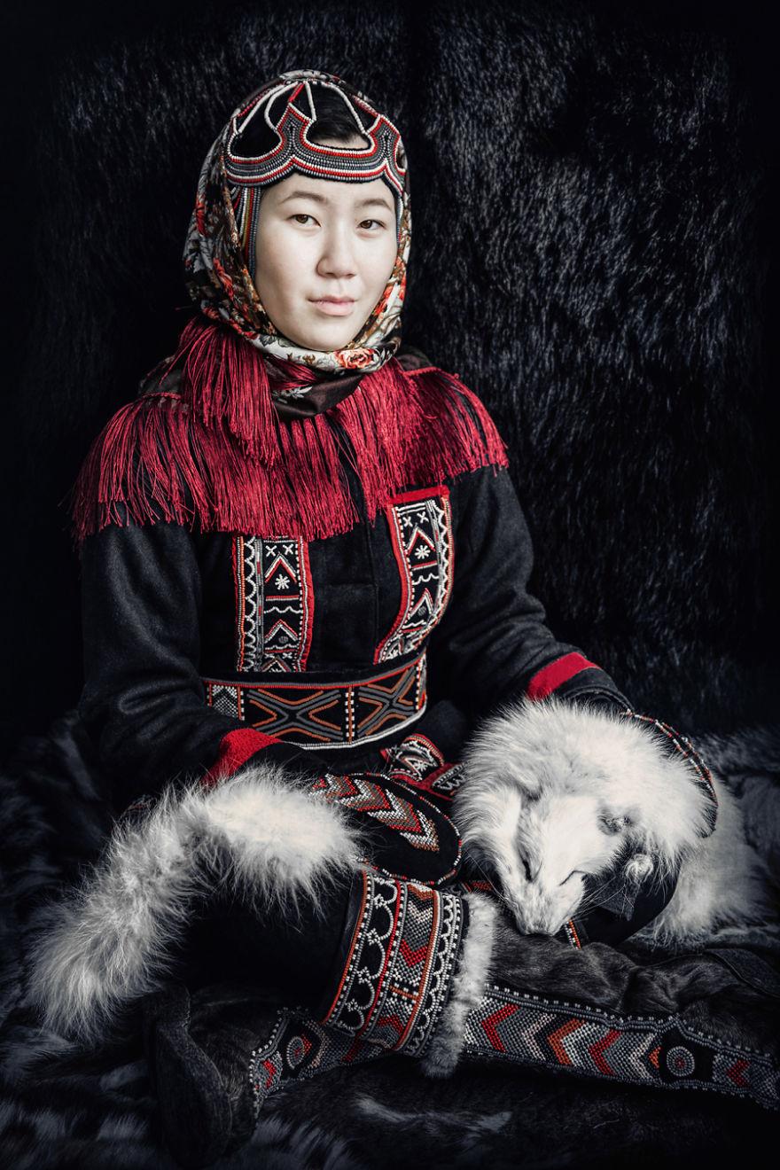 Dolgan Young Woman
