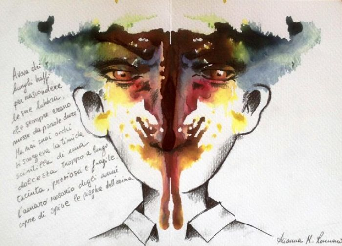 Postcards From Psyche: Rorschach-Inspired Art Project To Find Myself