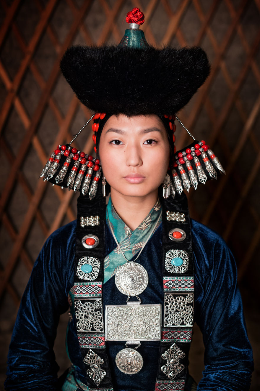 Buryat Young Woman