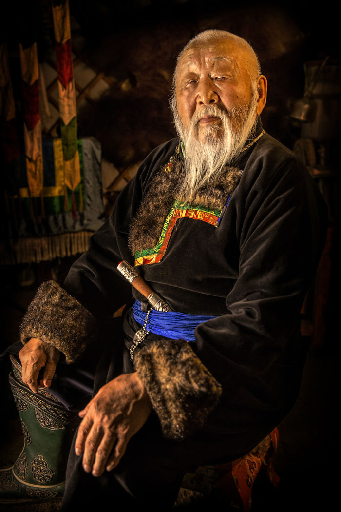 Hombre Buryat