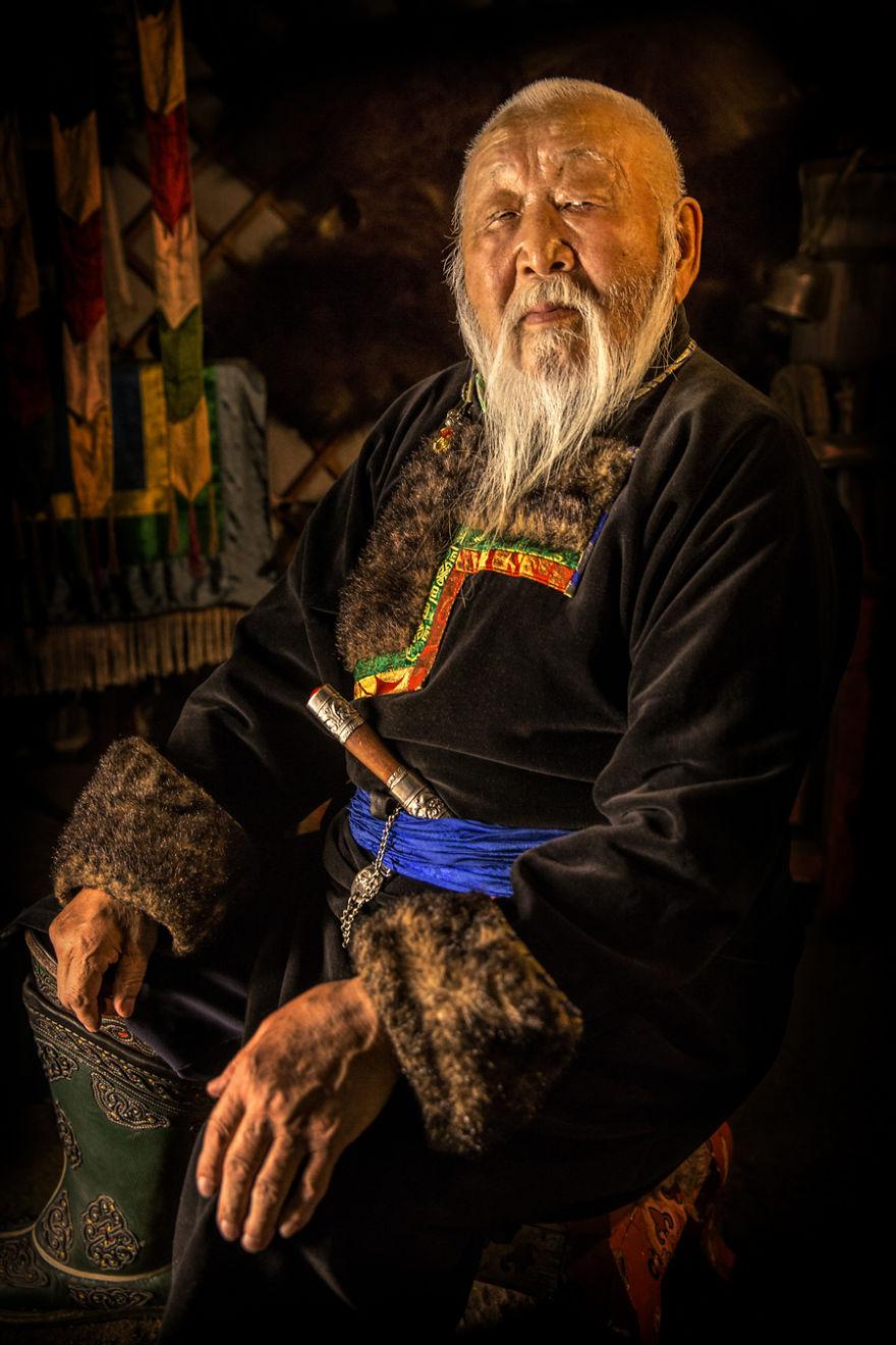 Buryat Man