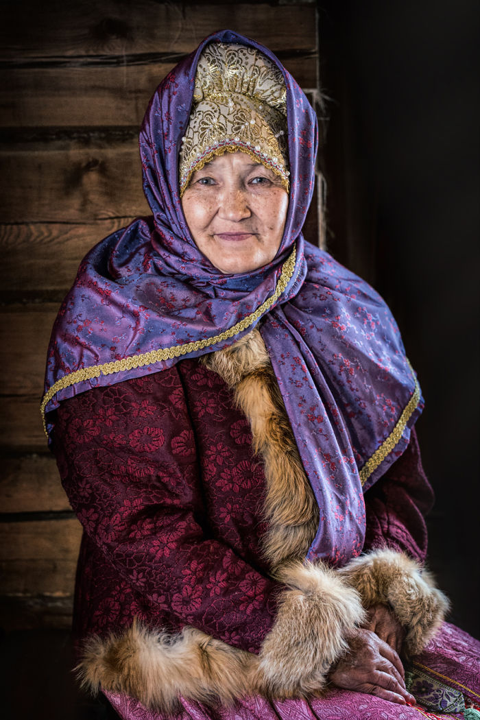 Russkoustincy Woman