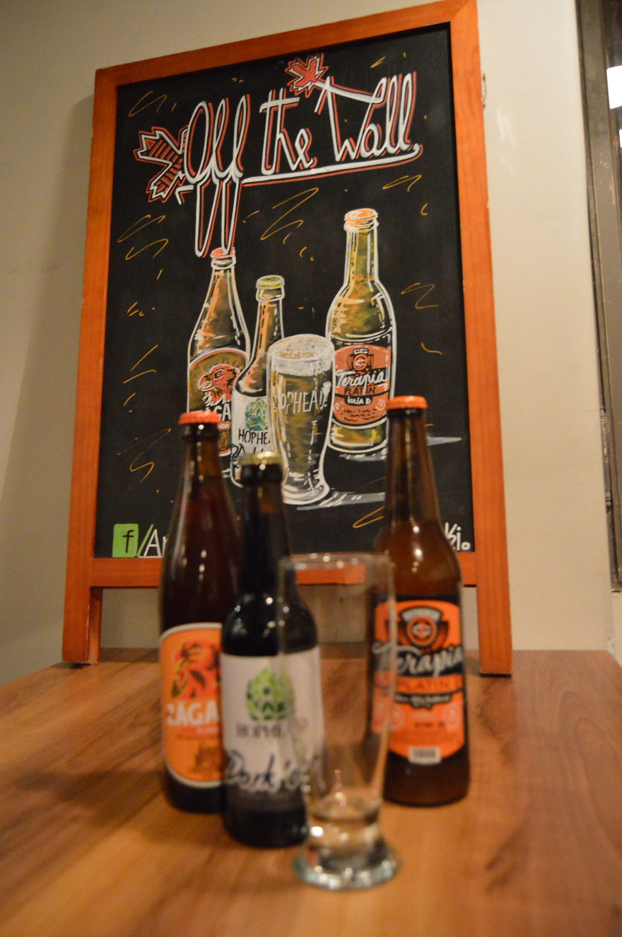 Another Sign With Beers (December, 2016)