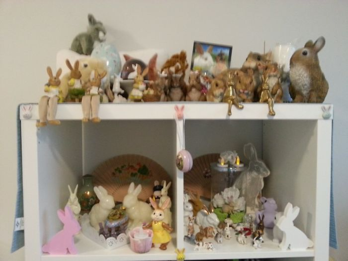 Old Pict. This Are Some Of My Bunny Things, They Are In Storage Now