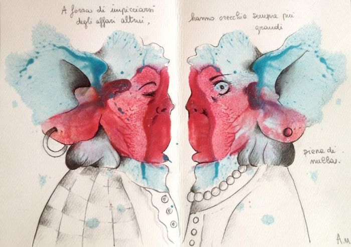 Gossip. They Have Ever-Larger Ears, Full Of Nothing