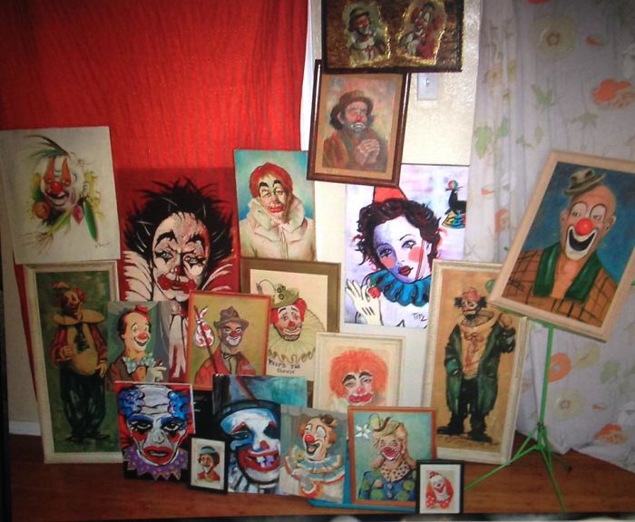 My Creepy-Yet-Amazing Clown Painting Collection