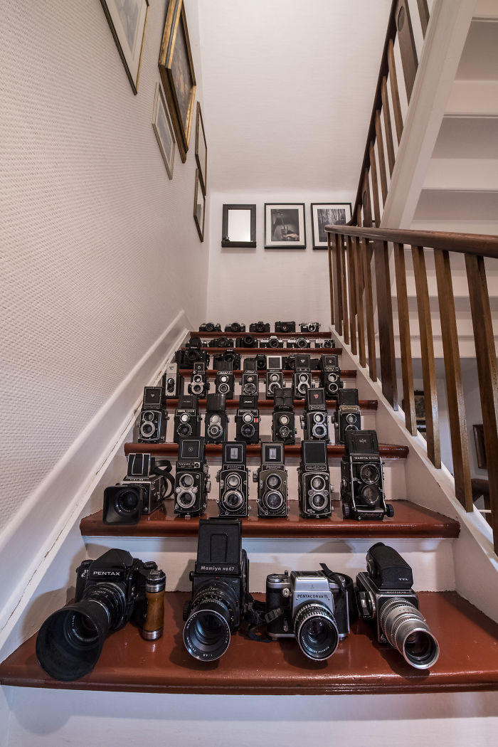 I Collect Vintage Cameras.