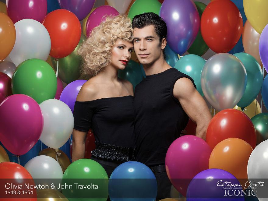 Olivia Newton & John Travolta