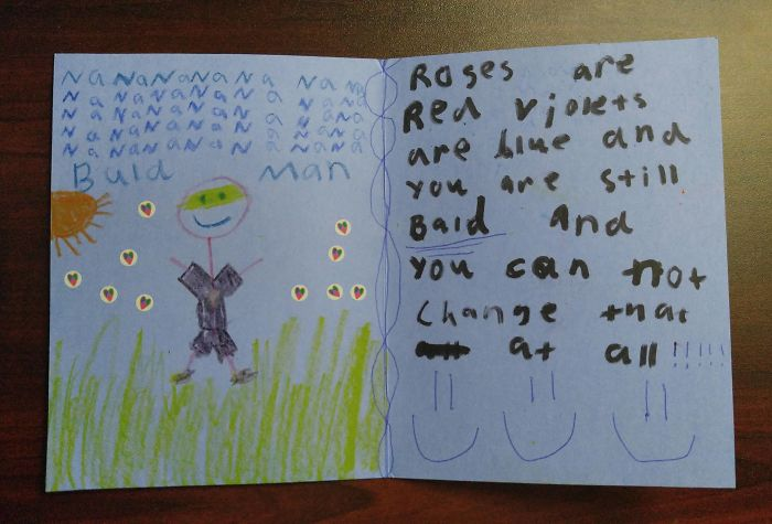 My Young Niece And I Send Each Other Funny Cards In The Mail Sometimes. Her Latest One Really Cut Me Deep