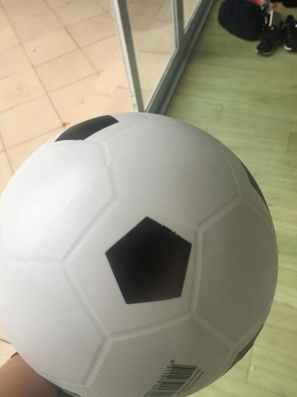 The Printing On This Ball