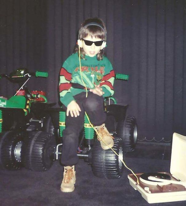 I Think This Pic Of Me Really Sums Up What It Was Like To Be A Kid In The Early 90s