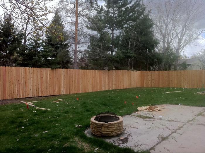 Mi esposa me dijo que no soy manitas como para hacer una valla. Ya se lo he enseñado. Es muy buena en psicología inversa