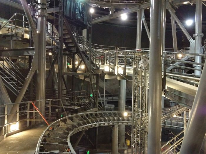 This Is What Space Mountain Looks Like With The Lights On