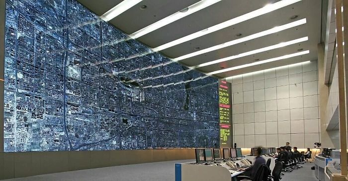 This Is What The Traffic Control Room Looks Like In Beijing