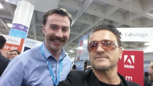 Friend Thought He Met Bono At Dreamforce In 2013