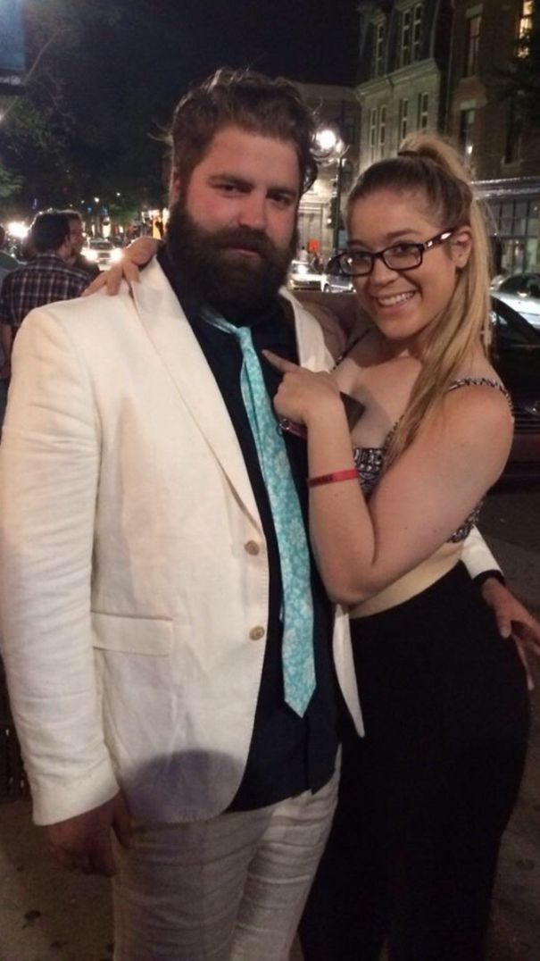 A Friend Of Mine Thought She Had Met Zach Galifianakis