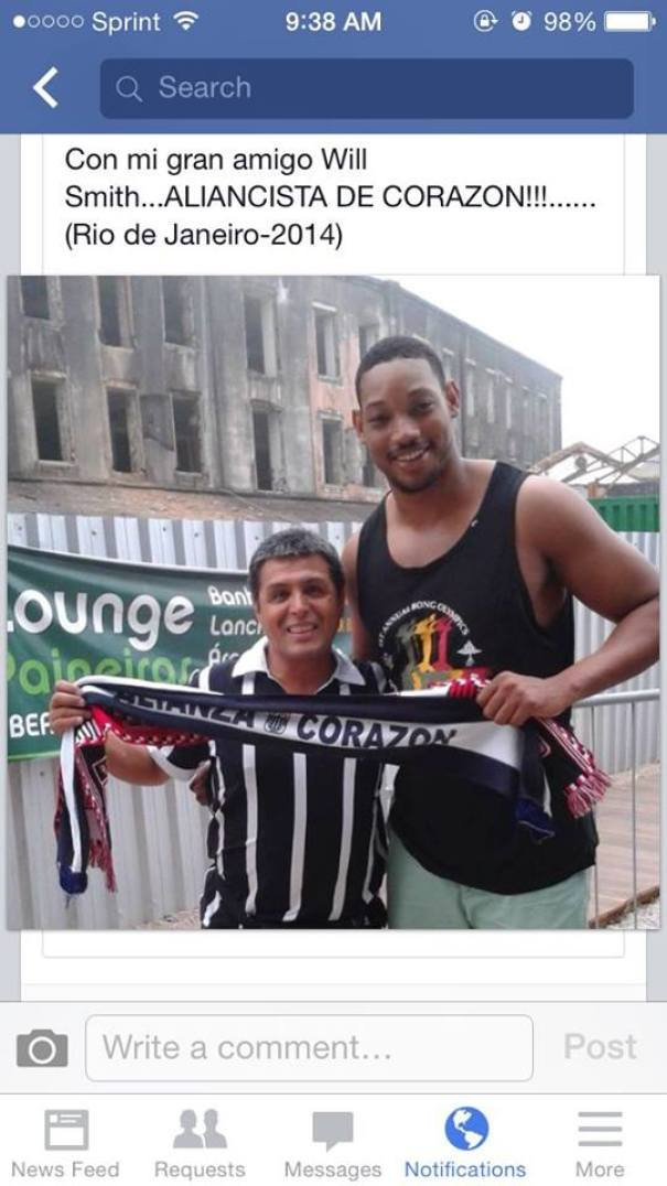My Dad Thought He Met Will Smith At The World Cup