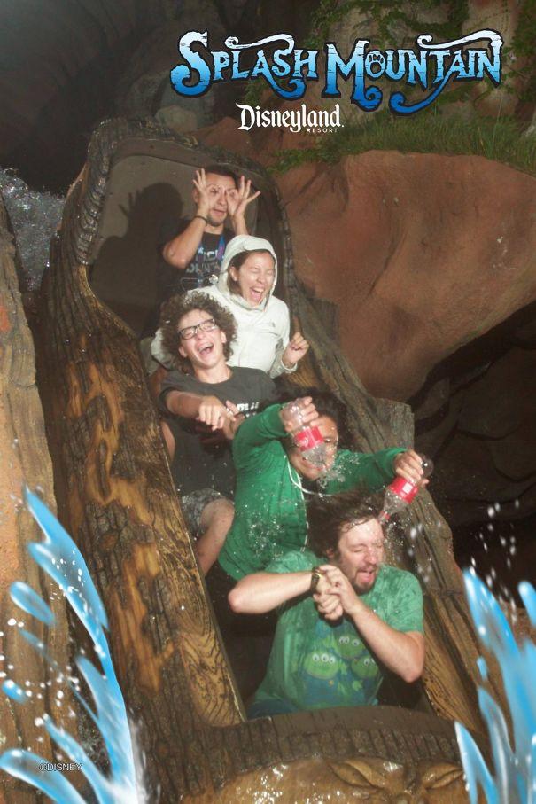 Boyfriend Says He Doesn't Get Wet Enough On Splash Mountain