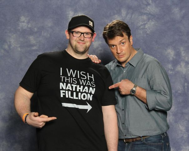 I Wish It Was Nathan Fillion