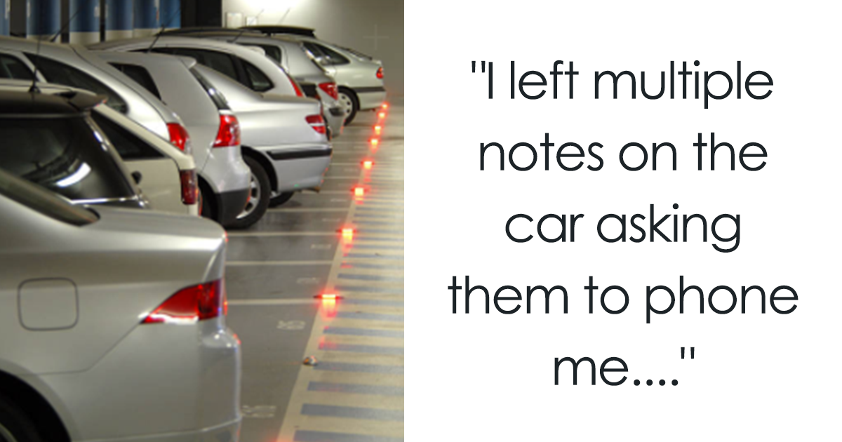 Someone Kept Stealing This Guy's £1200 Parking Spot, So He Got Revenge They'll Never Forget