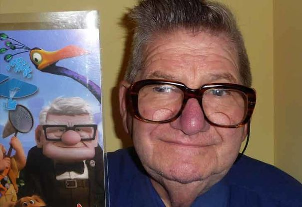 This Man Looks Like Carl From Up
