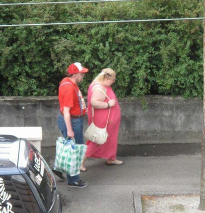 Mario y la princesa, mediana edad