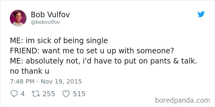 Single People Tweets