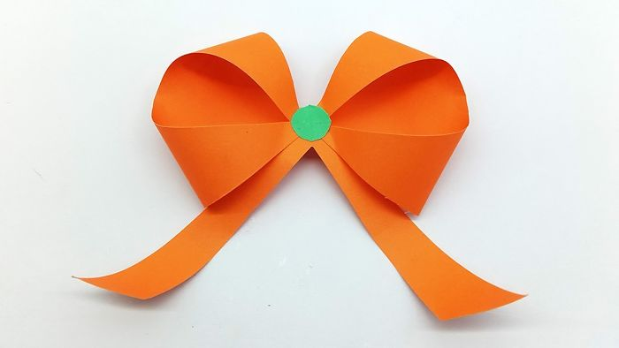 Step By Step Instructions How To Make Origami A Ribbon. Stock ...   394x700