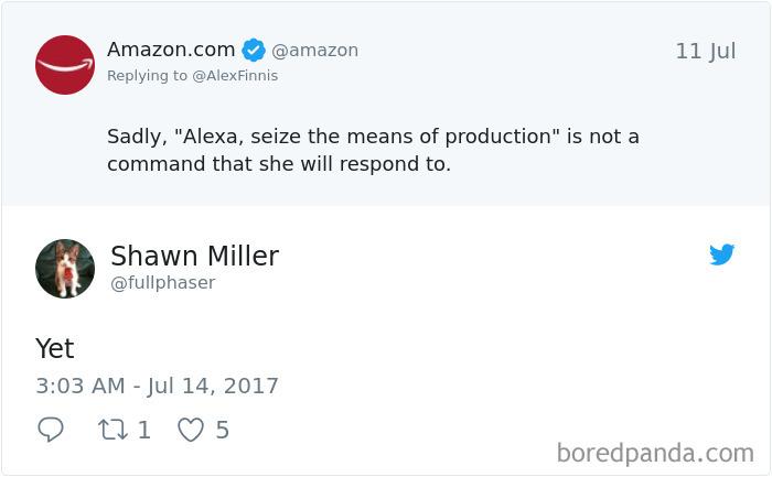 Alexa Tweet