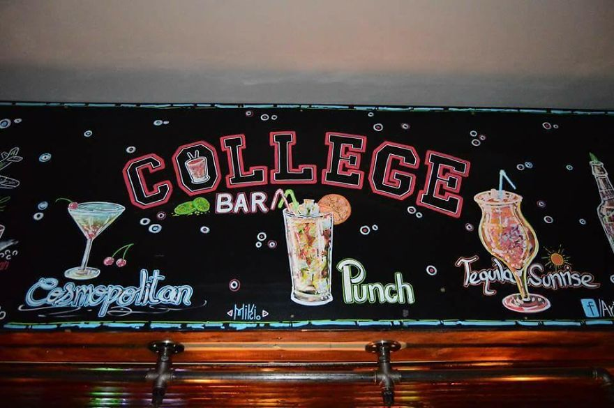 Another College Bar, In Another City, Iasi, Romania (March, 2016)