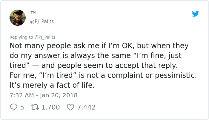 Someone Just Perfectly Explained Why Depression Makes People So Tired, And More People Need To See It