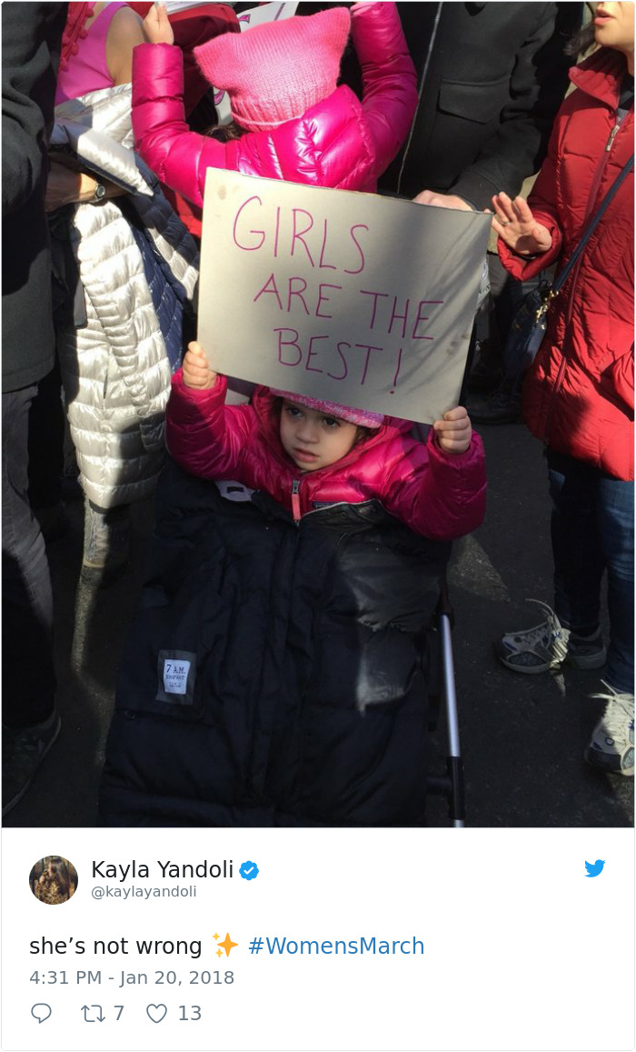 Womens Protest 2018