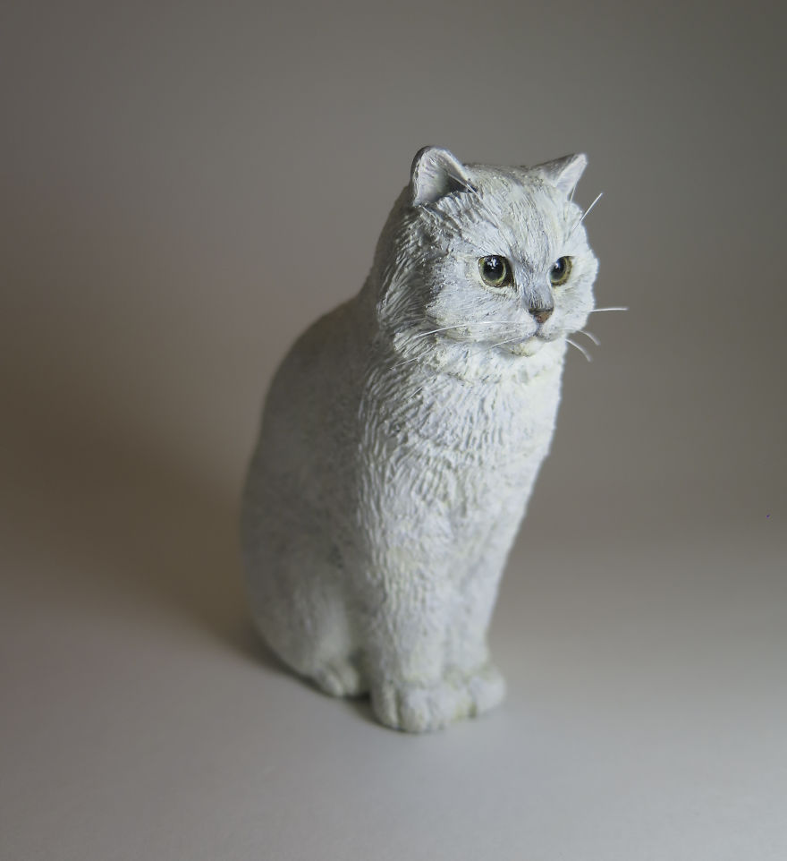 I Hand-Sculpt People\'s Cats To Immortalize Their Friendship | Bored ...