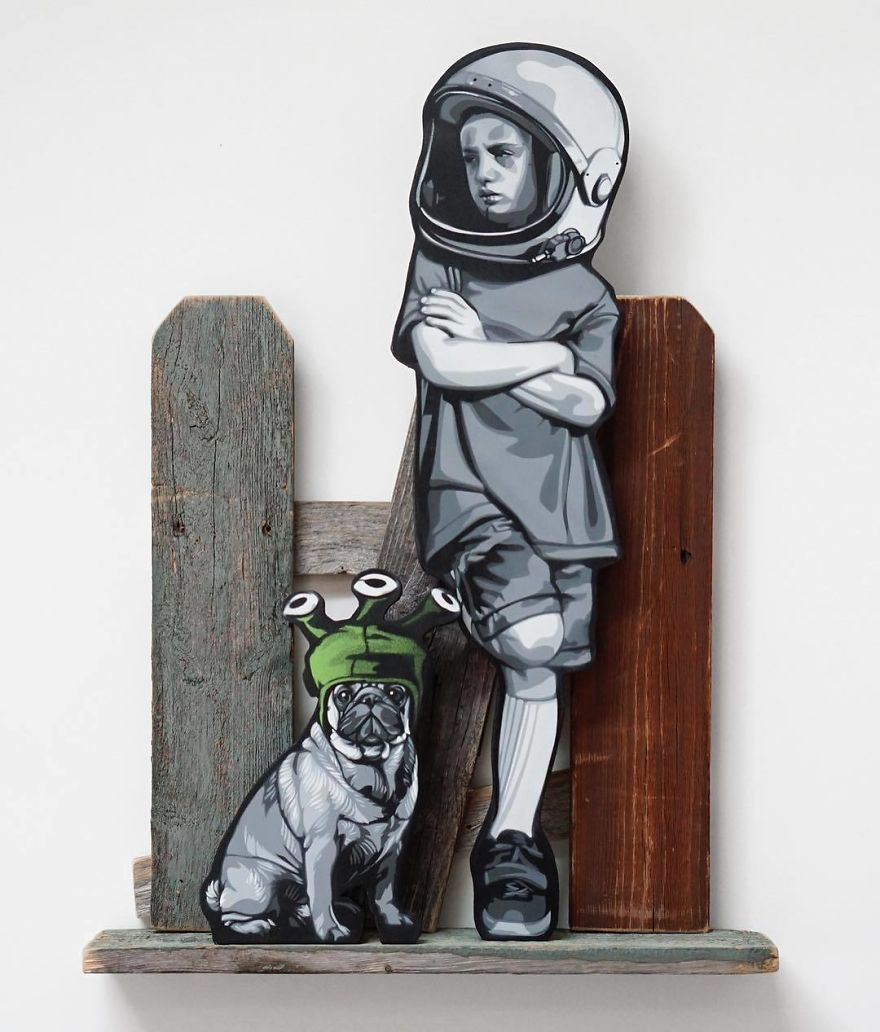 The Fantastic Tiny Wooden Figures By Joe Iurato
