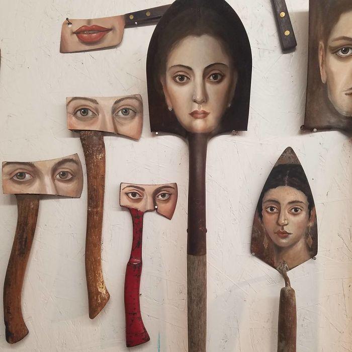 Paintbrush Tools Art