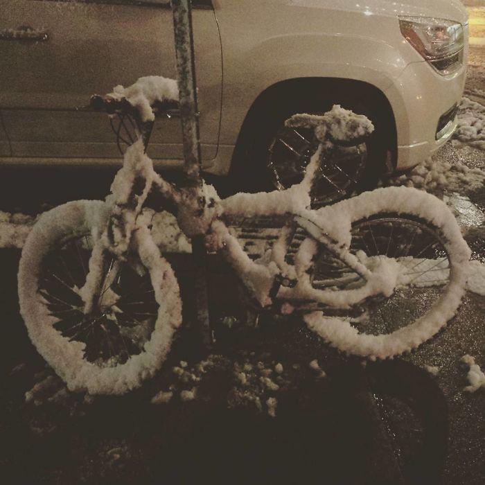 Freezing New York