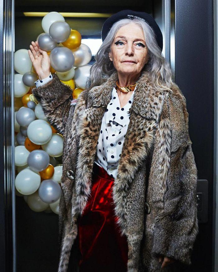 Olga Kondrasheva, 72 Years Old