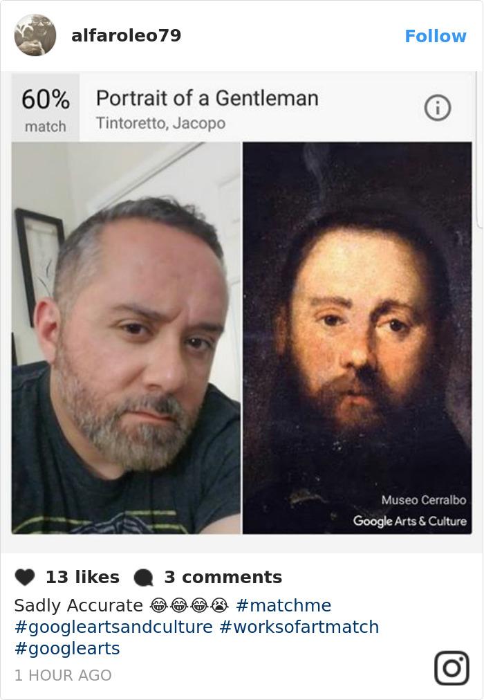 Google Art Selfie