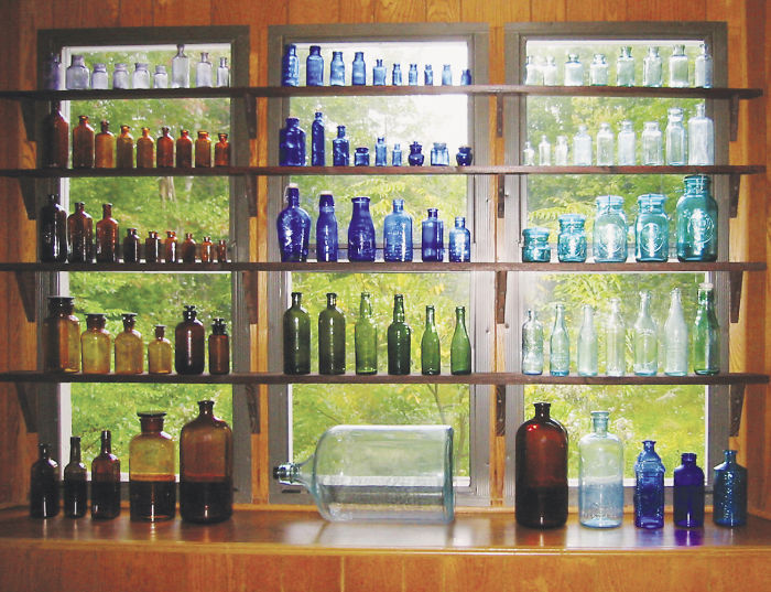 I Used To Collect Bottles Made In The 19th Century And Early 20th Century. I Had About 800 Of Them.