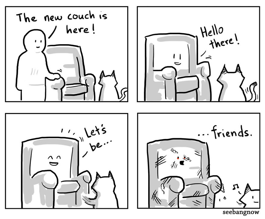 Cats Kidnapped Me And Made Me Draw Comics