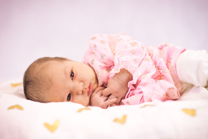 I Did My Little Girl's Newborn Photos And Here Are The Results And How I Did It