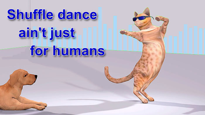 Dancing With Cattitude, Lucifurr Style!