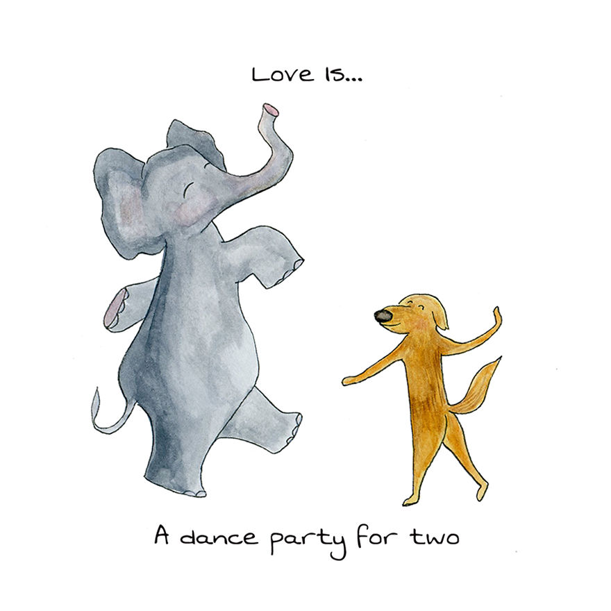Love Is A Dance Party For Two