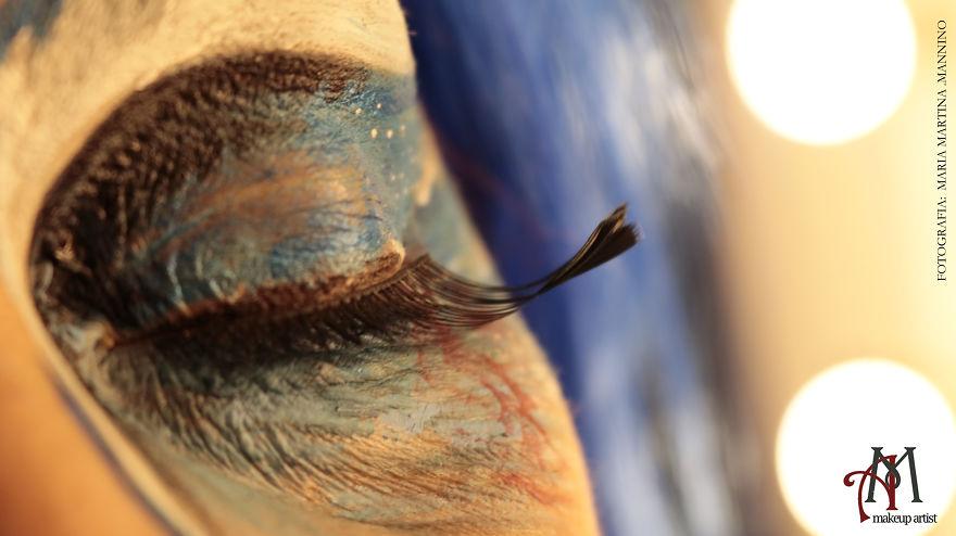 Eye Art Designe- Alessandra Morgante's Ocular Sceneries